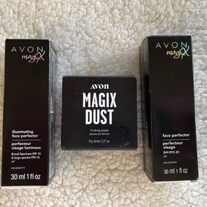 Avon Magix Lot of 3 Products Powder Face Perfector